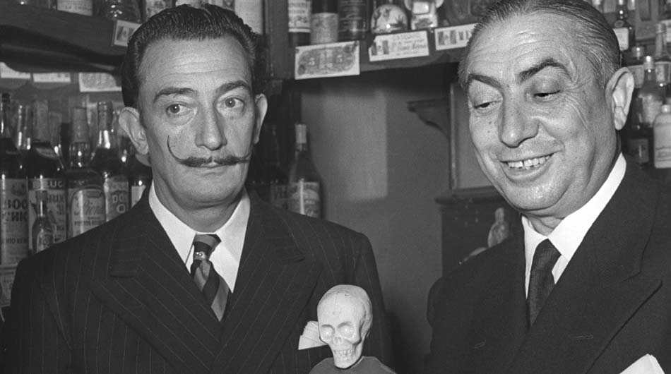 Perico-Chicote-con-Salvador-Dalí
