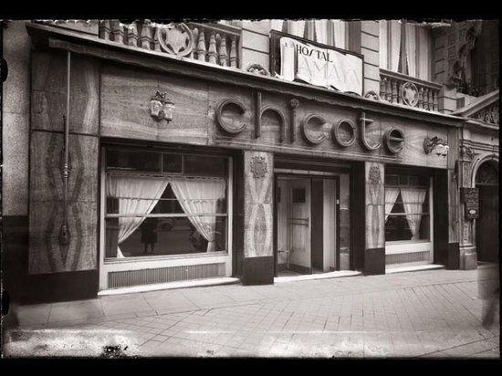Bar Perico Chicote en la Gran Vía de Madrid