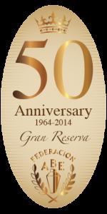 Logo Aniversario 50 años FABE