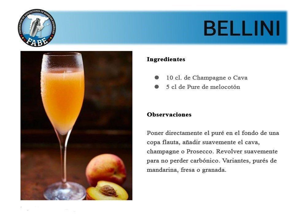 Bellini_receta