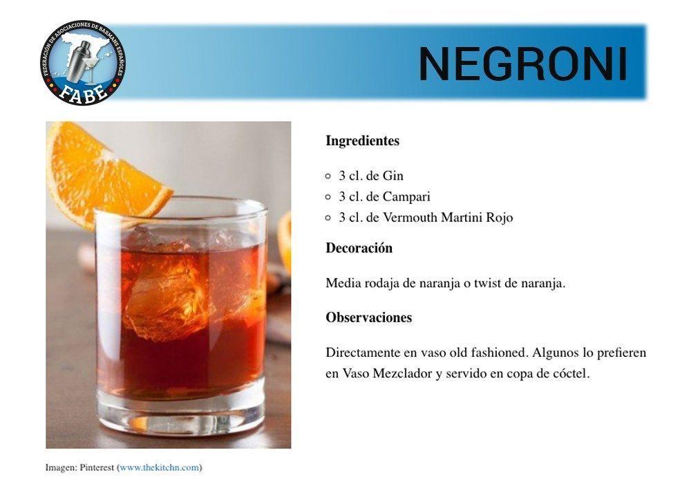 Negroni_receta