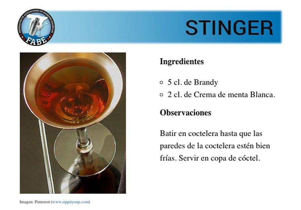 Stinger_receta