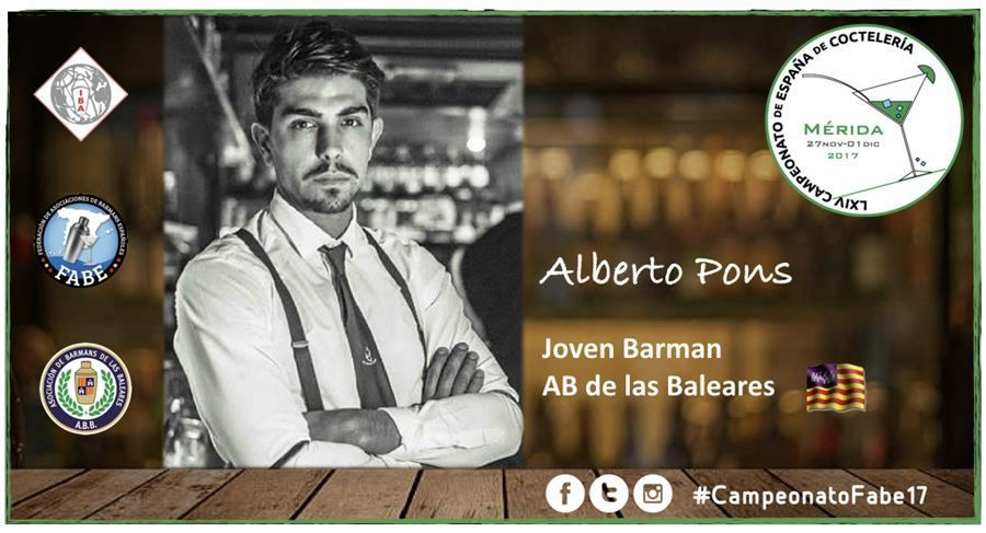 AB Baleares-Jóven Barman-Alberto Pons