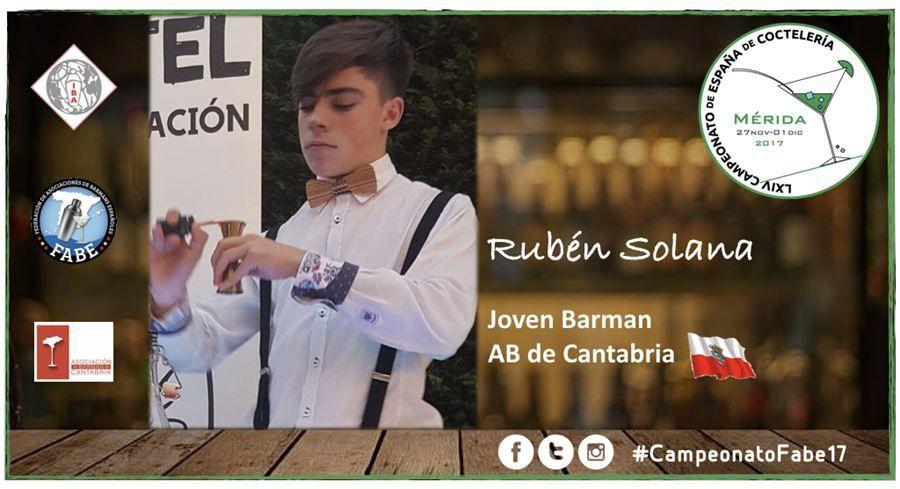 AB Cantabria-Jóven Barman-Rubén Solana