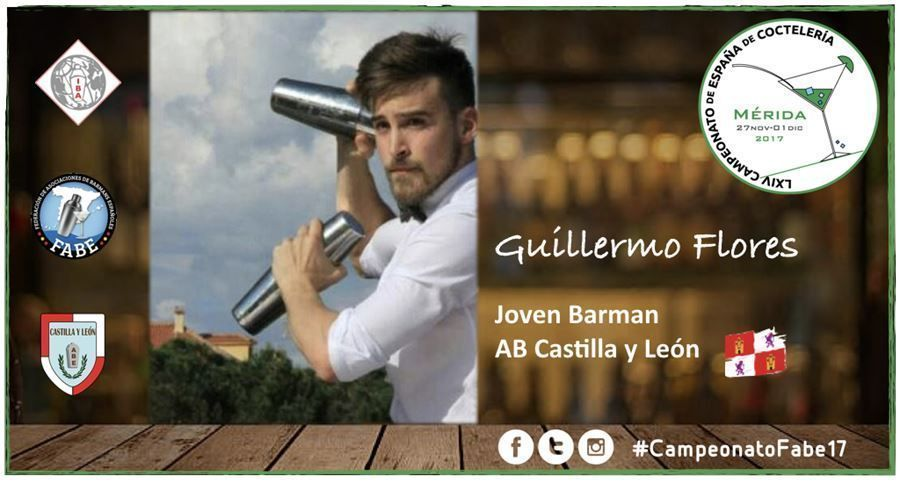 AB Castilla-León-Jóven Barman-Guillermo Flores