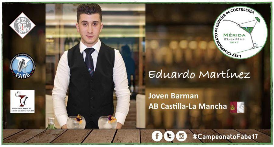 AB Castilla-Mancha-Jóven Barman-Eduardo Martínez