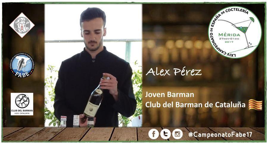 AB Cataluña-Jóven Barman-Alex Pérez