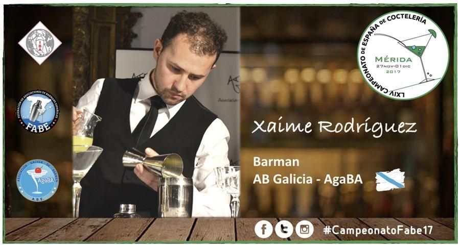 AB Galicia-Barman-Xaime Rodríguez