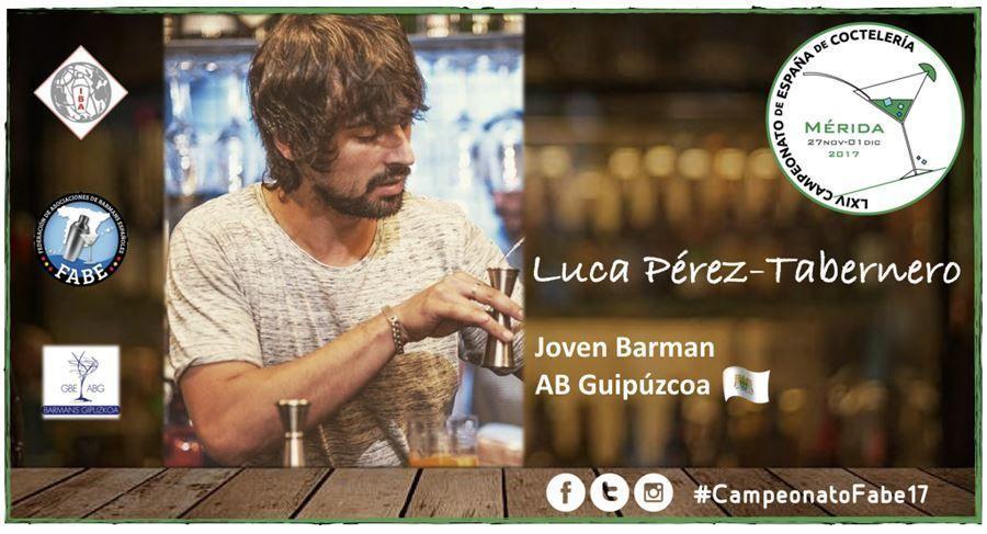 AB Gipuzkoa-Jóven Barman-Luca Pérez-Tabernero