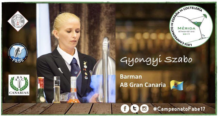 AB Gran Canaria-Barman-Gyongyi Szabo