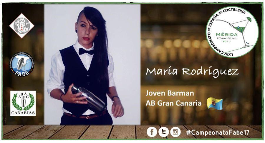 AB Gran Canaria-Jóven Barman-María Rodríguez