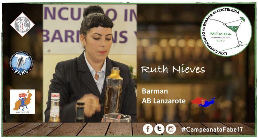 AB Lanzarote-Barman-Ruth Nieves