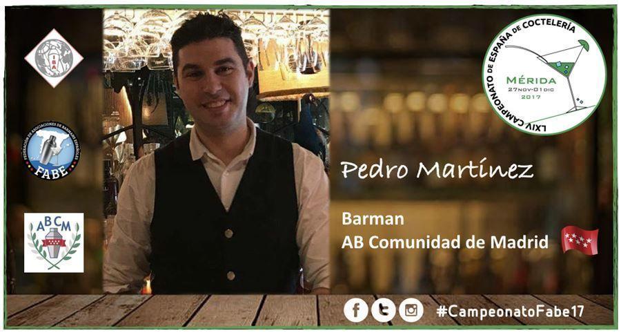 AB Madrid-Barman-Pedro Martínez