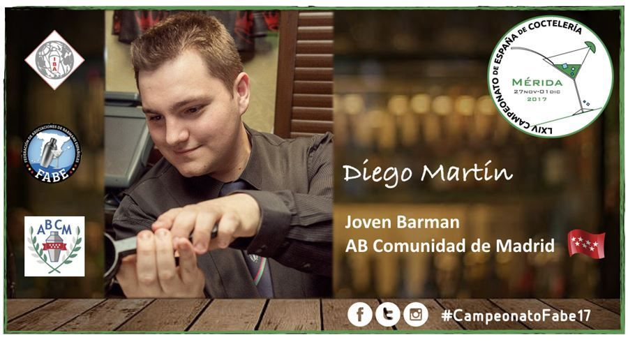 AB Madrid-Jóven Barman-Diego Martín