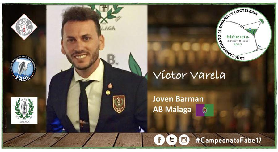 AB Málaga-Jóven Barman-Víctor Varela