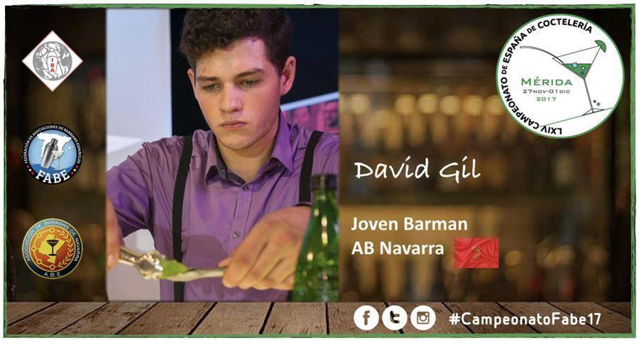 AB Navarra-Jóven Barman-David Gil
