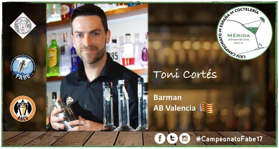 AB Valencia- Barman-Toni Cortés