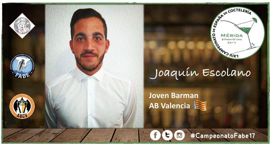 AB Valencia-Jóven Barman-Joaquín Escolano