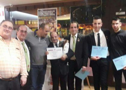 Entrega de premios certamen cocteleria en Deusto-Bilbao