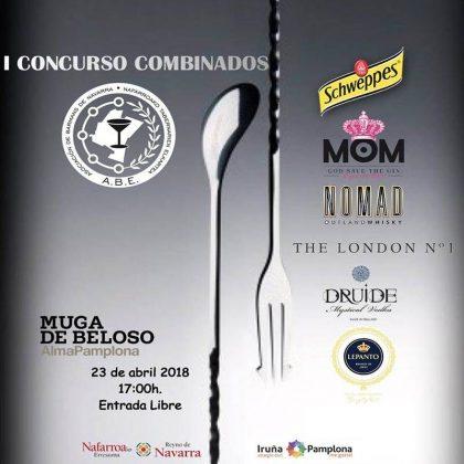 Cartel del I Concurso de Combinados_Pamplona