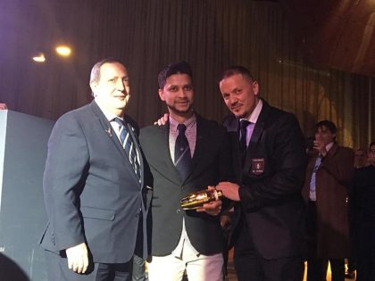Joel Jamal Khan Campeón Jefe de Bar_ 2018 Regional Madrid