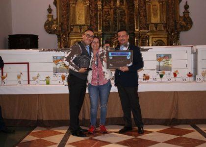 Guillermo Gonzalez_Entrega Premio Campeón Barman 2018 Regional Galicia