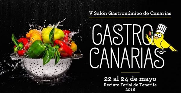 Logo del V Salón Gastronómico de Canarias
