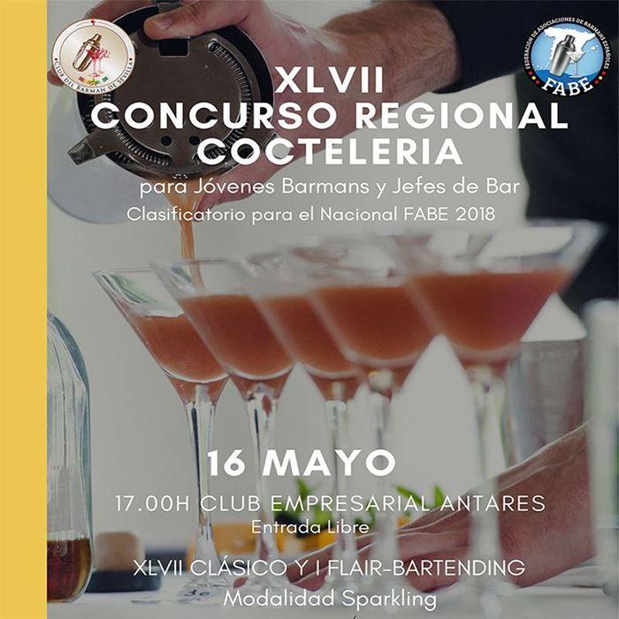 XLVII Concurso Regional Coctelería Sevilla