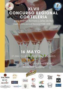 XLVII Concurso Regional Coctelería Sevilla_cartel