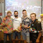 Campeones de Tiki, Xicu, Carlos y Jose Cortes