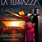 Cartel de la I Fiesta cierre de verano de AB Tenerife