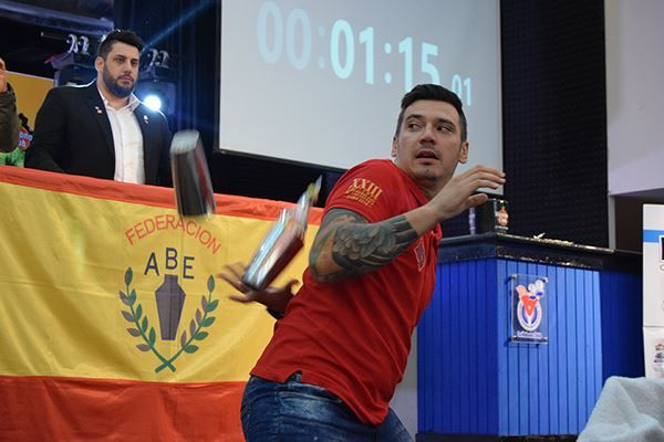 Cristian Balta Subcampeon Flair_Campeonato Panamericano 2018
