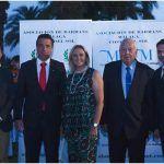 J.J. Bernal, Juan Antonio Lara, Señora Lara, Juan Lara y Julián Villora