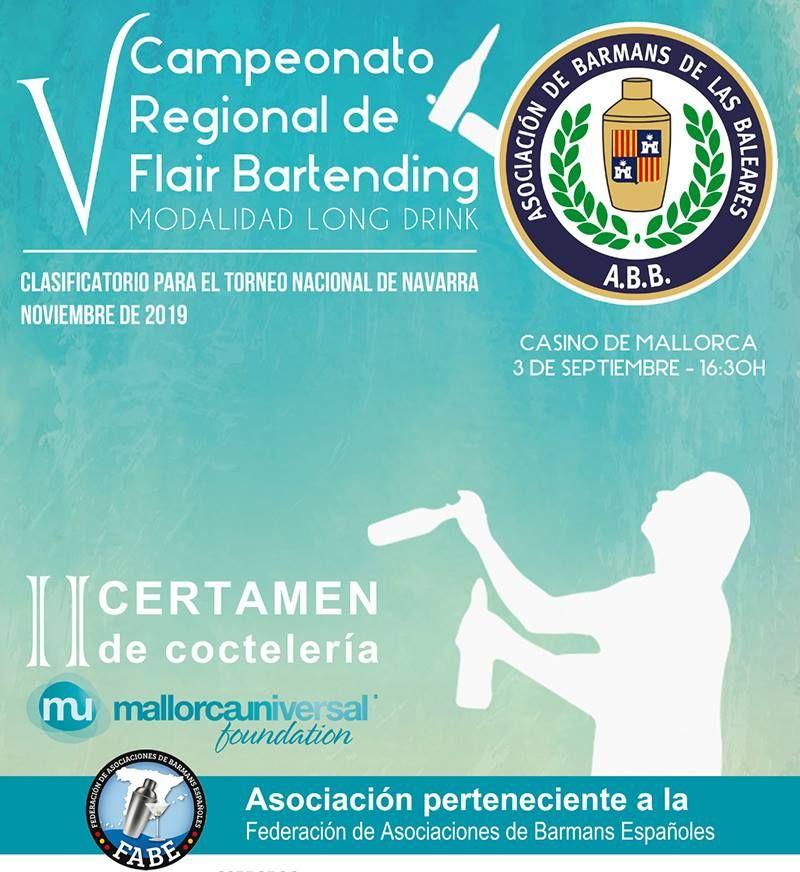 V Campeonato de Cocteleria Flair Bartending Baleares detalle