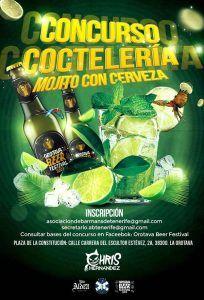 Concurso Mojito Cerveza Tenerife_cartel