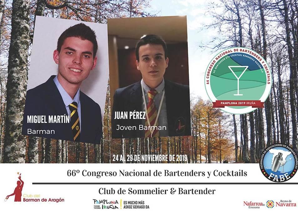 Aragón-Club del Barman_Participantes_LXVI_Campeonato_Nacional