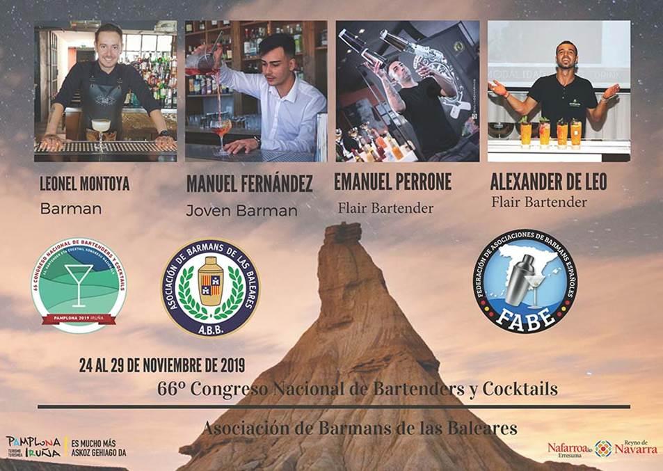 Baleares-Asociación de Barmans_Participantes_LXVI_Campeonato_Nacional