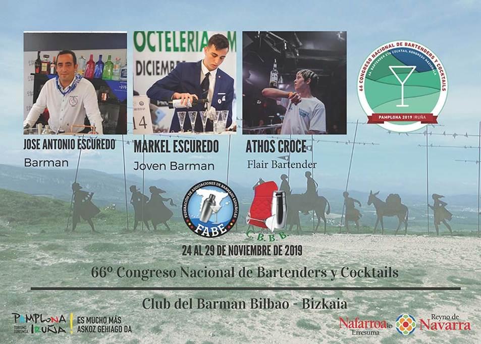 Bilbao-Bizkaia-Club del Barman_Participantes_LXVI_Campeonato_Nacional