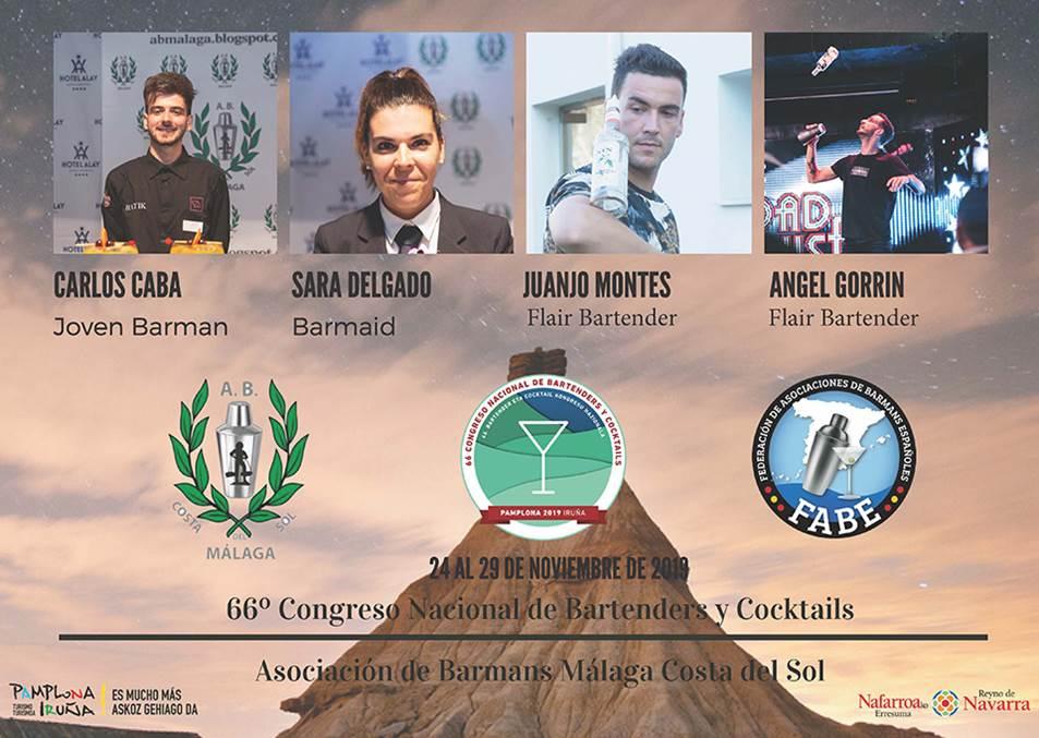 Málaga-Asociación de Barmans_Participantes_LXVI_Campeonato_Nacional