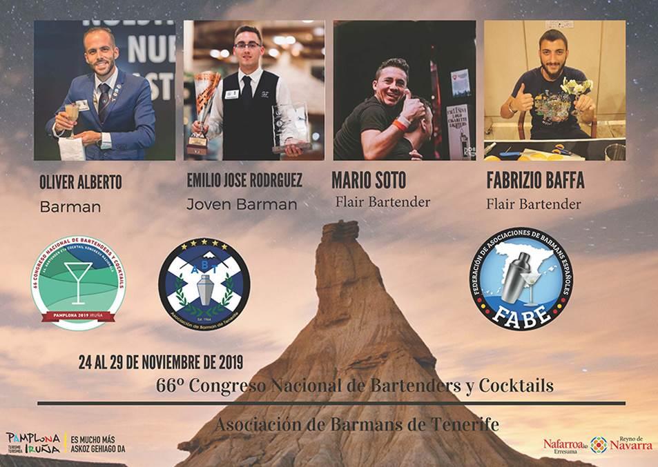 Tenerife-Asociación de Barmans_Participantes_LXVI_Campeonato_Nacional